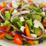 Recipe Of The Month; Greek Salad And Grilled Chicken