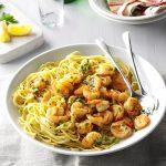 Recipe Of The Month; Garlic Shrimp Pasta